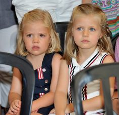 Princess Sofia of Spain (L) and Princess Leonor of Spain (R) attend Jaume Anglada's pop concert during the third day of 29th Copa del Rey Mapfre Audi Sailing Cup on August 4, 2010 in Palma de Mallorca, Spain.