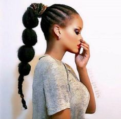 Gorgeous High Ponytail Hairstyles for Black Women Ponytail Hairstyles are one of the most used hairstyles by the women all over the world including the African American black women. High Ponytail Hairstyles, High Ponytails, Girl Hairstyles, Braided Ponytail, Puffy Ponytail, Bubble Ponytail, Goddess Braids Updo, Perfect Ponytail, Marley Hair