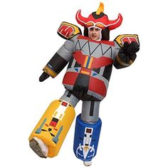 Giant Megazord Inflatable Costumes Adult Halloween Fancy Dress Funny Scary Tag someone who should wear this! Christmas Fancy Dress, Top Christmas Gifts, Halloween Fancy Dress, Adult Halloween, Halloween Christmas, Funny Halloween, Power Rangers Megazord, Scary Costumes, Adult Costumes