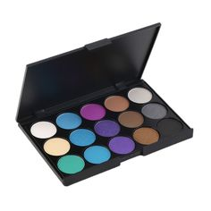 Professional 15 Colors Matte Shimmer Eyeshadow Palette Makeup Cosmetic Hot Selling NO1