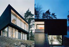 Ultra-modern hillside house: Casa Barone