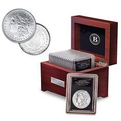 Complete U.S. Morgan Silver Dollar Coin Collection