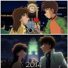 MK in 2 different years <3 I prefer 2014 :3 What about you ?