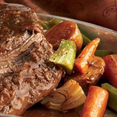 High Plains Bison Pot Roast, Recipe from Cooking.com