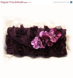 wedding clutch bridesmaid clutch maid of honor by BijouxandCouture, $60.00