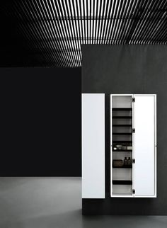 Boffi bathroom Pianura units tall