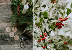 Advent wreath.