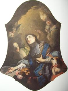 Josef Winterhalder ml. Sv. Jan Nepomucký 1766 Hradiště sv. Hipolyta, boční oltář