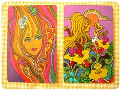 Psychodelic playind cards | Flickr - Photo Sharing!