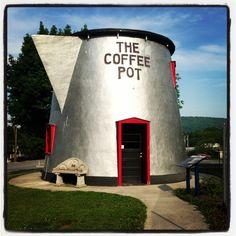 The Coffee Pot in Bedford, Pennsylvania... Interesting... #coloradobound