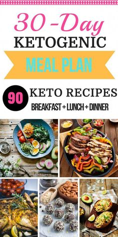 90 Keto Diet Recipes For Breakfast, Lunch & Dinner! Ketogenic 30 Day Meal Plan Easy Keto For Beginners + Free 30 Day Meal Plan Looking for keto diet tips for beginners? Check out this easy free meal plan and shopping list for beginners! With 90 keto Low Carb Meal Plan, Ketogenic Diet Meal Plan, Ketogenic Diet For Beginners, Keto Diet For Beginners, Keto Diet Plan, Diet Meal Plans, Ketogenic Recipes, Diet Recipes, Diet Menu