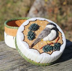 Beadwork, Beading, Birch Bark, Native Art, Quilling, Moose, Baskets, Culture, Traditional