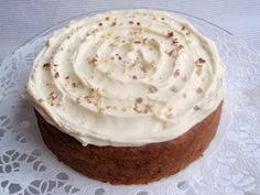 Marian pieni leipomo - Maria's little bakery: Porkkanakakku / Carrot cake Carrot Cake, No Bake Cake, Carrots, Pudding, Pie, Baking, House Cafe, Desserts, Food