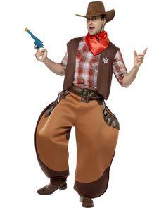 MENS WESTERN JOHN WAYNE COWBOY WILD WEST RODEO STAG NIGHT FANCY DRESS COSTUME