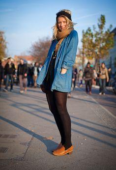 Fall into winter wear