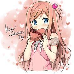 44 Best Anime Valentine S Day Images Anime Art Anime Girls Art