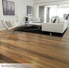 Spotted Gum solid wood flooring and light walls Real Wood Floors, Solid Wood Flooring, Wide Plank Flooring, Engineered Hardwood Flooring, Timber Flooring, Flooring Ideas, Spotted Gum Flooring, Timber Ceiling, Installing Hardwood Floors