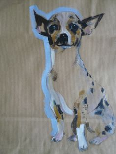 Sally Muir - dog illustration