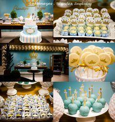 Birthday party :: Prince theme