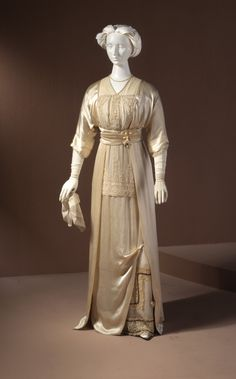 Woman's Wedding Gown  Lucille (United States, Illinois, Chicago)  United States, New York, 1912