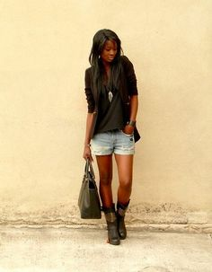 Rock the boots ! (by ASSITAN T.) http://lookbook.nu/look/4100950-Rock-the-boots