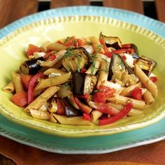 Penne With Eggplant - South Beach Diet Recipes