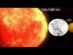 Planetas y estrellas a escala - YouTube