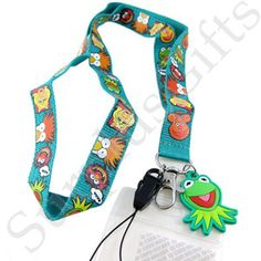 Muppets Lanyard with Kermit The Frog Dangler
