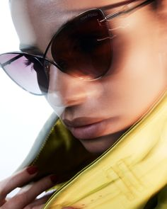 The Leila Sunglasses. #TOMFORD #TFEYEWEAR