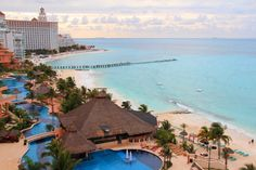 Cancun, Mexico... I might risk getting kidnapped by drug lords for a few days of this.