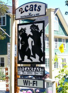 2 Cats Restaurant & Inn  Bar Harbor, ME