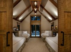 Martis Camp cabin, CA. IMI Design, Scottsdale.