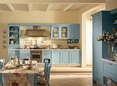 light blu kitchen