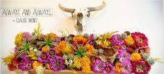 O'keeffe-inspired florals by @Kelly Cuadra