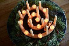 Cradle-to-Cross Wreath
