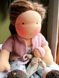 Waldorf Doll Celia 19 by thiscosylife,