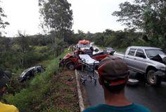 #News  Colisão entre veículos deixa uma pessoa morta e outras feridas no Norte de Minas