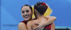 Ona Carbonell Ballestero y Andrea Fuentes