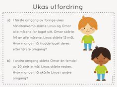 ukas utfordring Fractions, Early Learning, Children, Kids, Family Guy, Teaching, Education, School, Maths