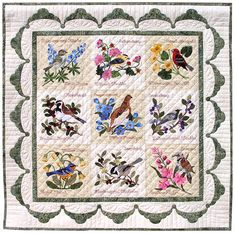 Forget-Me-Not Quilt