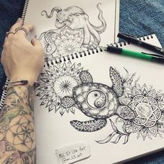 Really enjoying working on these ocean inspired tattoo commissions ♥ these two are definitely part of my favourites. More projects like this please ! :) ~ contact me by email miletuneart for any inquiries. Hawaiian Tattoo, Tattoos, Creative Tattoos, Future Tattoos, Tattoos And Piercings, Body Art, Sleeve Tattoos, Turtle Tattoo, Tattoo Designs