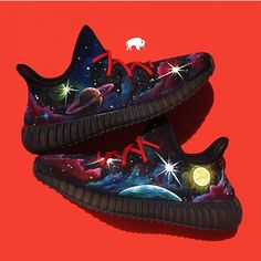 "Custom ""Man on the Moon"" Done By @bbizon  #aceofcustoms #best_customs #teamkickstradomis #walklikeus #jodirockstar #thugkicks #nardgotsole #sneakerhead #feetheat #kicks0l0gy #kicksoftheday #kotd #solewest #aceofcustoms #wdywt #sole4asoul #customhour #bayareagotsole #nicekicks #jordandepot #amillibound #customkicks #featuredfootwear #customkings #best_customz #Hd_sole #kickstagram #grailfeatures #krispysoles #shoutmysneakz #customkicks #custom"