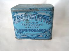 Vintage Pipe Tobacco Tin by SugarLMtnAntqs on Etsy, $15.00