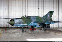 Mikoyan-Gurevich MiG-21bisD; Zagreb, Croatia