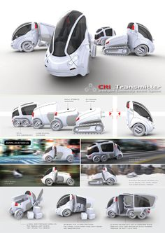 Citi.Transmitter: multi-purpose personal vehicle (by Vincent Chan)