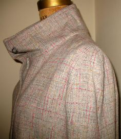 ModCAPE in Pastel Wool Couture Tweed Lined in by speakeasyboutique, $188.00