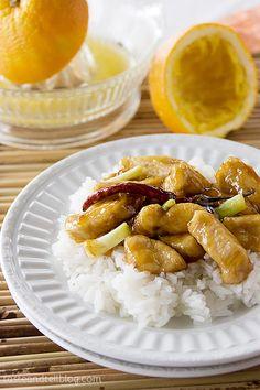 Orange Chicken - Taste and Tell