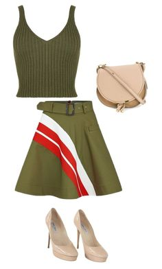 """""""Untitled #765"""" by sylviabunny ❤ liked on Polyvore featuring Preen, WearAll, Jimmy Choo and Chloé"""