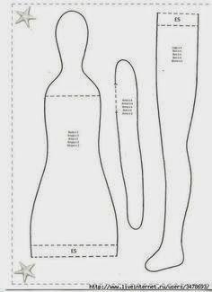 patrones de vestidos para muñecas tilda - Buscar con Google