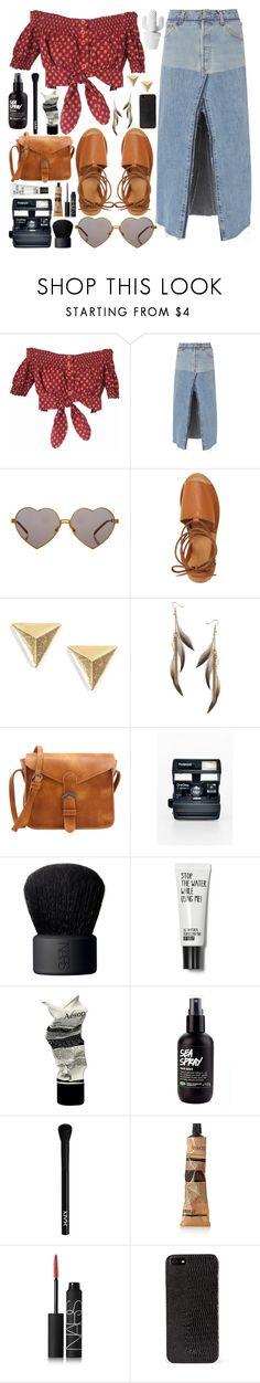 """G Y P S Y / /"" by queen-laureen ❤ liked on Polyvore featuring Gipsy, RE/DONE, Wildfox, Topshop, Miss Selfridge, Polaroid, NARS Cosmetics, Aesop, NYX and DKNY"